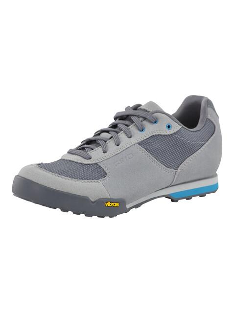 Giro Petra VR Shoes Women titanium/blue jewel